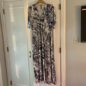 Rachel Pally printed maxi dress. Size S